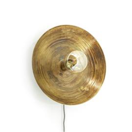 192155 | Wandlamp Horus small - bronze | By-Boo - Begin maart weer verwacht!