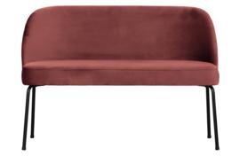 800086-C | Vogue eetbank fluweel chestnut | BePureHome
