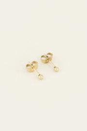 Studs knopje - goud/zilver | My Jewellery