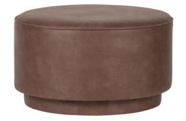 375140-B | Coffee poef ecoleer warm bruin | VTwonen