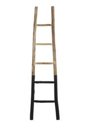 6725412 | Ladder deco 42x4x180 cm STEN zwart | Light & Living - alleen afhalen
