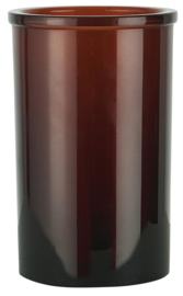 0342-14 | Tumbler brown glass | Ib Laursen