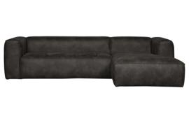 375694-Z | Bean hoekbank rechts - zwart | WOOOD