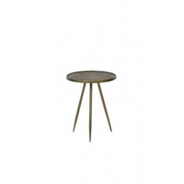 6720386 | Bijzettafel ENVIRA antiek goud -  Ø39,5x50,5 cm | Light & Living
