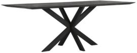 BT 530634 | Timeless Black eettafel Curves 210 cm | DTP Home