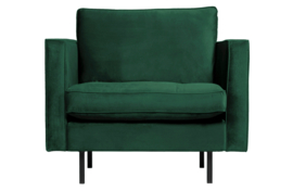 800888-162 | Rodeo classic fauteuil velvet green forest | BePureHome