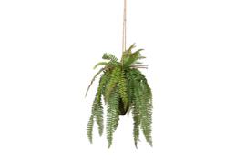 375139-G | Varen hangende kunstplant groen 58cm | WOOOD
