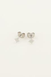 Studs poolster - goud/zilver | My Jewellery