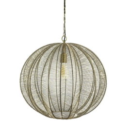 210074 | Hanglamp Floss large - bronze | By-Boo