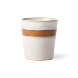 ACE6047 | ceramic 70's mug: snow | HKliving