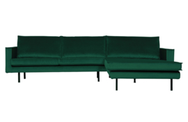 800902-162 | Rodeo chaise longue rechts velvet green forest | BePureHome