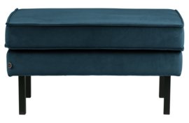 800897-45 | Rodeo hocker op poten velvet blue | BePureHome