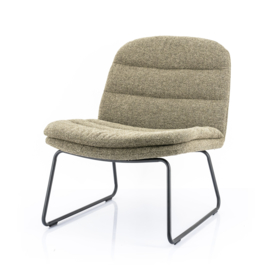 210036 | Lounge chair Bermo - green | By-Boo