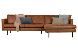 800902-B | rodeo chaise longue rechts cognac | BePureHome