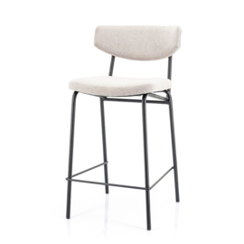 210026 | Bar chair Crockett - taupe | By-Boo