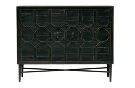 800935-Z | Bequest dressoir hout zwart | BePureHome