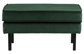 800897-162 | Rodeo hocker op poten velvet green forest | BePureHome
