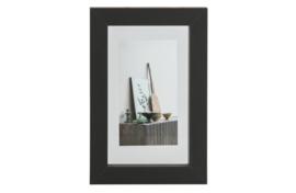 377096-Z | Blake fotolijst met houten rand zwart 30x20 | WOOOD Exclusive
