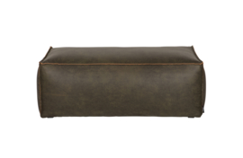 378610-A | Rodeo poef 43x120x60 army | BePureHome