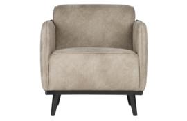 378670-105 | Statement fauteuil met arm elephant skin | BePureHome