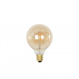 9900200 | LED globe Ø9,5x13 cm LIGHT 3W amber E27 | Light&Living