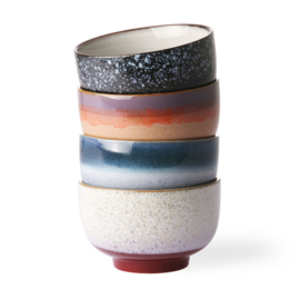 ACE6874 | 70s ceramics: noodle bowls (set of 4) | HKliving - Binnenkort weer verwacht!
