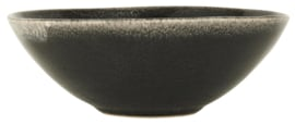 2442-25 | Bowl Antique Black Dunes | Ib Laursen