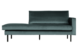 800746-198 | Rodeo daybed right velvet teal | BePureHome