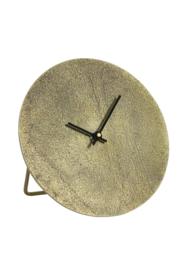 7109318 | Klok Ø20 cm LICOLA antiek brons | Light & Living