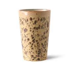 ACE6999 | 70s ceramics: tea mug, tiger | HKliving - Eind juni verwacht!