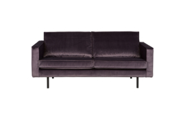 800542-G | Rodeo bank 2,5-zits velvet dark grey - 67 | BePureHome