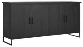 BT 438111 | Timeless Black dressoir Beam No.1 - 190 cm | DTP Home