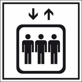 Toeslag via de lift (ongeacht de etage/verdieping) + 29,-