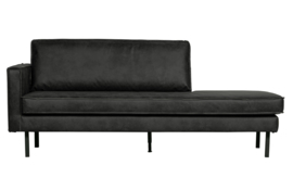 800743-Z | Rodeo daybed left zwart | BePureHome