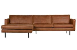 800905-B | rodeo chaise longue links cognac | BePureHome