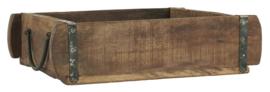 3588-00 | Brick mould box w/handles UNIQUE | Unika by IB Laursen