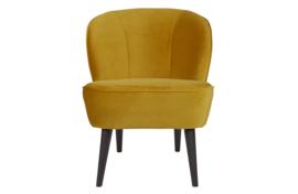 375690-132 | Sara fauteuil - fluweel oker | WOOOD