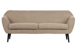 340451-TS | Rocco sofa 187 cm - teddy sand | WOOOD