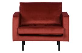 800541-205 | Rodeo fauteuil velvet chestnut | BePureHome