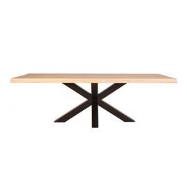 11282 | Boomstam tafel met spinpoot - 300x100 | Eleonora