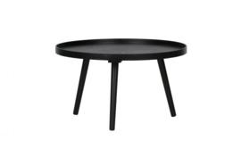 375431-Z | Mesa bijzettafel L hout zwart | WOOOD