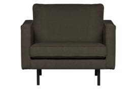 801541-W | Rodeo stretched fauteuil warm grey/brown | BePureHome
