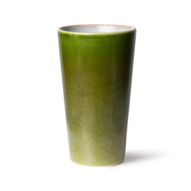 ACE7059 | 70s ceramics: latte mug, grass | HKliving - Eind maart 2022 verwacht!