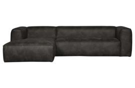 375689-Z | Bean hoekbank links - zwart | WOOOD