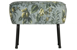 800218-85 | Vogue hocker fluweel poppy grijs | BePureHome