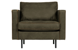800888-A | Rodeo classic fauteuil army | BePureHome