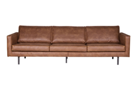 378618-B | Rodeo bank 3-zits cognac, Eco leder | BePureHome