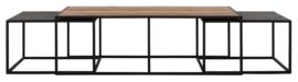 CS 605530 | Cosmo Salontafel langwerpig - set van 3 | DTP Home