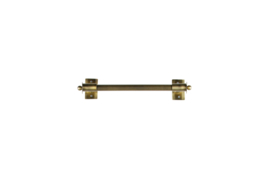 373730-B | Pleun wandrek metaal antique brass M | WOOOD