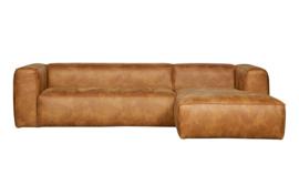 375694-C | Bean hoekbank rechts - cognac | WOOOD